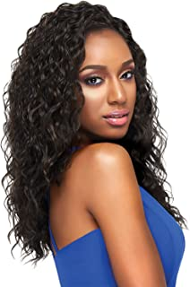OUTRE Synthetic Hair Half Wig Quick Weave Janessa (1B)