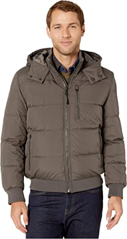 G star whistler hooded bomber jacket gs grey + FREE SHIPPING