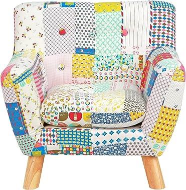 Karla Dubois Jacey Kids Floral Patchwork Chair