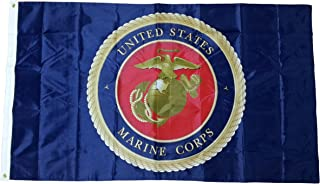 S&D United States Marines 2-Sided Flag