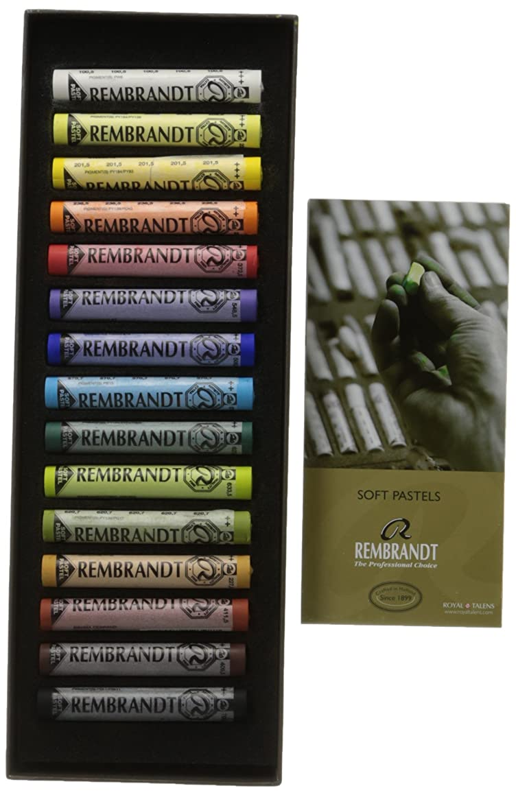 Rembrandt Royal Talens Soft Pastel Set, 15 Stick