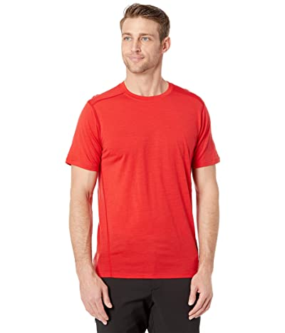 Smartwool Merino 150 Base Layer Short Sleeve (Cardinal Red) Men