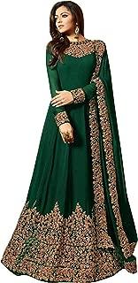 Karva Fashion Women Georgette Long Anarkali Salwar Suit/Gown With Dupatta6