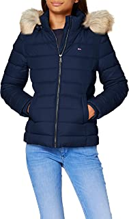 Tommy Hilfiger Tjw Basic Hooded Down Jacket Chaqueta para Mujer