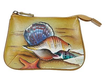 Anuschka Handbags Medium Coin Purse 1107 (Gift of the Sea) Coin Purse
