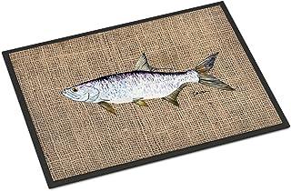 Caroline's Treasures 8774JMAT Fish - Tarpon Indoor or Outdoor Mat 24x36 Doormat, 24H X 36W, Multicolor