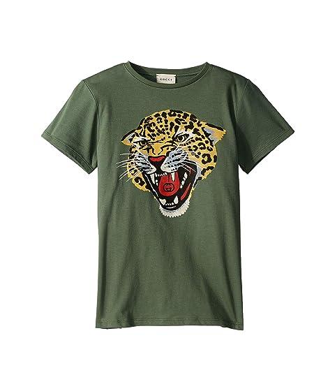 Gucci Kids Graphic Logo T-Shirt 547559XJAH2 (Little Kids/Big Kids)
