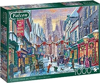 Jumbo 11277 Falcon de Luxe-Christmas in York 1000 Piece Jigsaw Puzzle