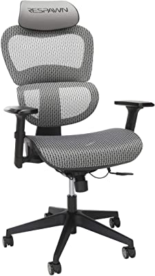 RESPAWN Specter Full Mesh Ergonomic Gaming Chair, in Graphite Gray (RSP-215-GRY)