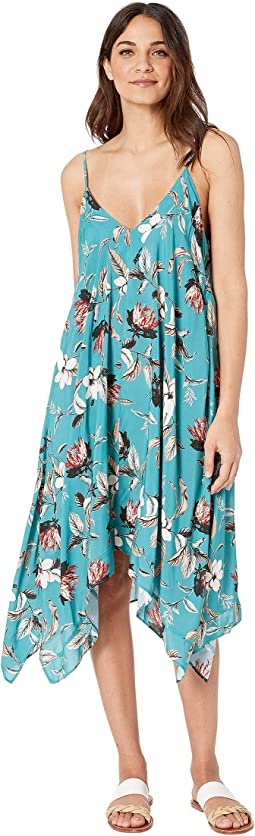 Desert Flower Flowy Midi Dress
