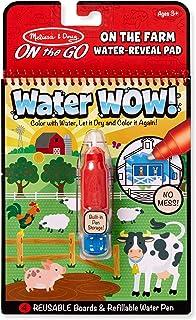 "Melissa & Doug 9232 On The Go Water Wow! - Farm Toy 6"" x 10"""