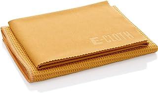 E-Cloth Window Scrubbing & Polishing Set Microfiber Cleaning Cloth, Tangerine