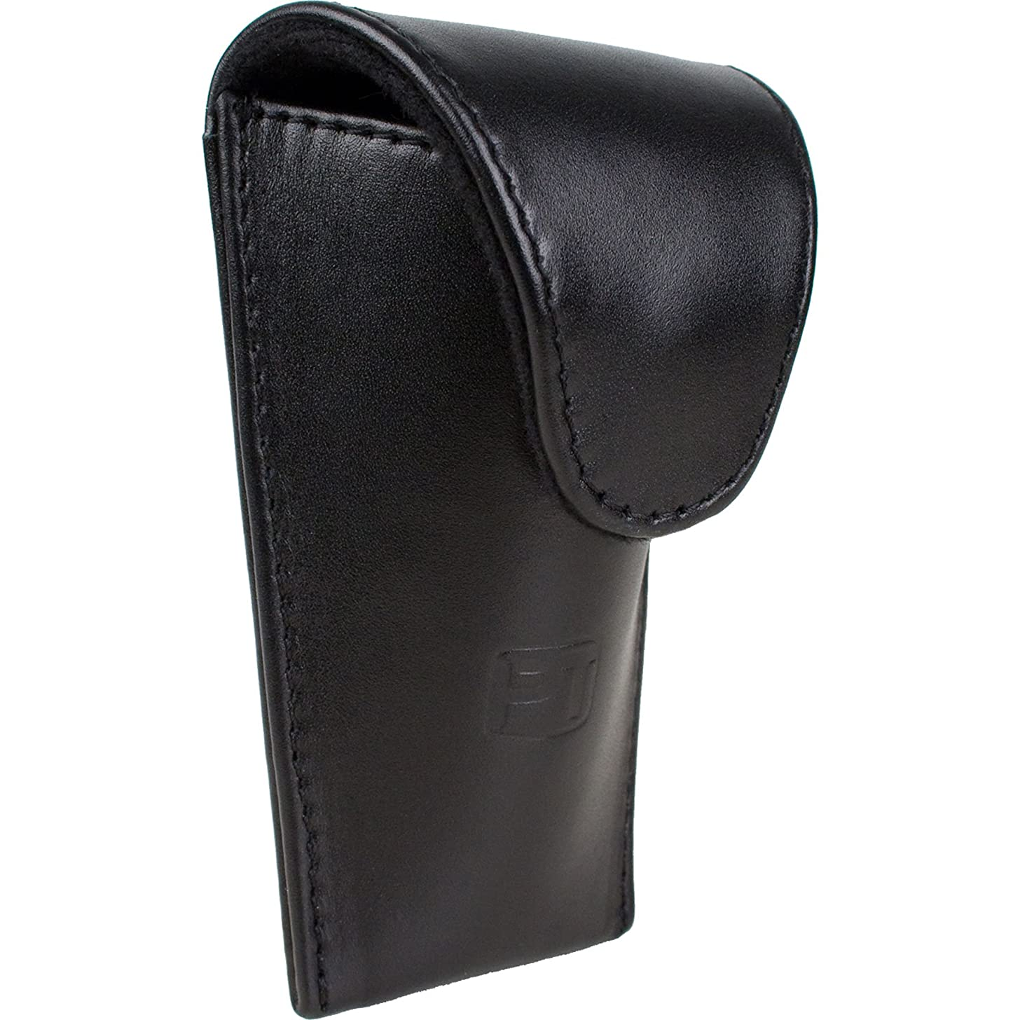 Protec Trombone / Euphonium Mouthpiece Padded Leather Pouch with Secure Magnetic Snap Closure, Model L204