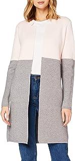 Morgan Veste Droite À Col Cranté Mblock Cardigan Sweater Femme