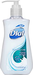 Dial Liquid Hand Soap, Soothing Care, 7.5 Fl Oz (Pack of 1)