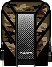 ADATA HD710M Pro 2 TB USB 3.1 Rugged Waterproof/Dustproof/Shockproof External Hard Drive, Camouflage (AHD710MP-2TU31-CCF)