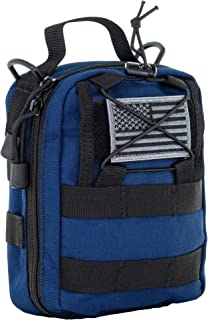 LINE2design First Aid (Ifak) Molle Pouch - EMT Emergency Medical Trauma Bag Outdoor Tactical EDC Rescue Utility Gear Pouch...