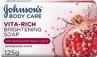 JOHNSON'S, Body Soap, Vita-Rich, Brightening, 125g