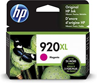 HP 920XL   Ink Cartridge   Magenta   CD973AN