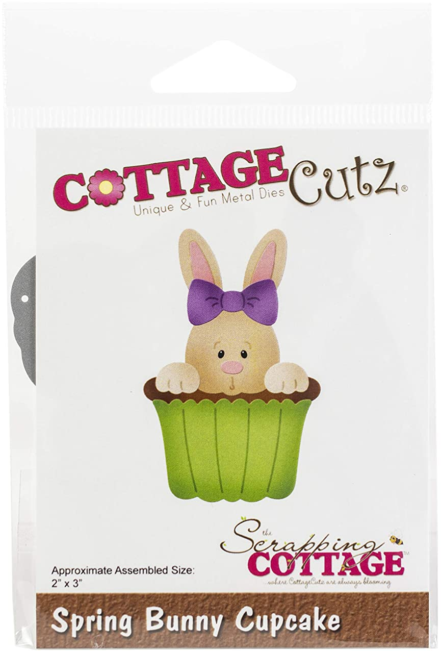 CottageCutz Spring Bunny Cupcake jqvmuzxsjlhzi094