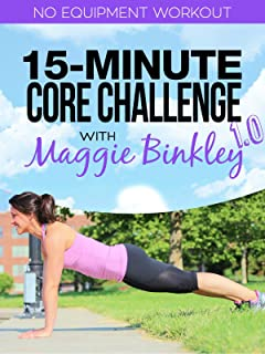 15-Minute Core Challenge 1.0 Workout