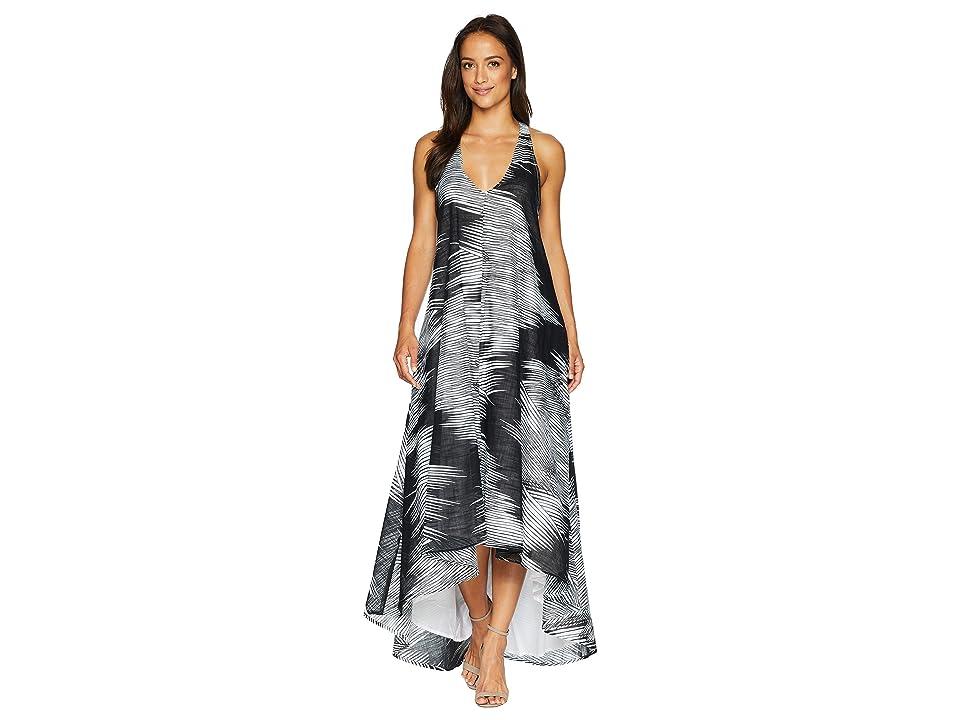 Kenneth Cole New York Racerback Twist Strap Dress (Linear Wave/Black) Women