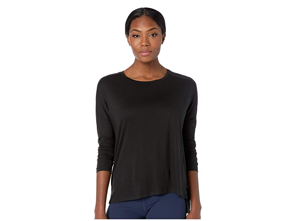 Reebok Training Supply Long Sleeve Tee (Black 1) Women