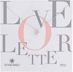 Dogeared - Love Letter Initial Necklace
