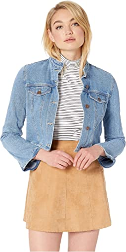 Bell Sleeve Denim Jacket