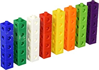 Didax Educational Resources Hands-On Math Linking Cubes, 40 pcs