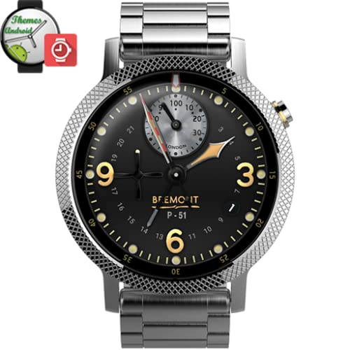 Bremont P51 Wright Bros Watch Face wmwatch Android wear
