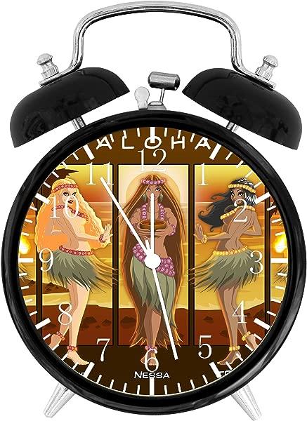 Ikea New Hawaiian Dance Alarm Desk Clock 3 75 Room Decor E31 Will Be A Nice Gift