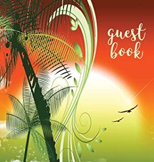 Guest Book (Hardback), Visitors Book, Guest Comments Book, Vacation Home Guest Book, Beach House Guest Book, Visitor Comme...