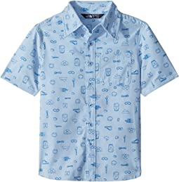 Pale Blue Camp Essentials Print/Turkish Sea (Prior Season)