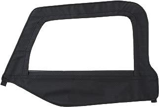 Smittybilt 79435 OEM Door Skin with Frame for 1997-2006 Jeep Wrangler TJ, Driver's Side, Black Diamond
