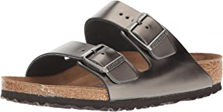 2633b7488b8 Amazon.com  Grey - Slides   Sandals  Clothing