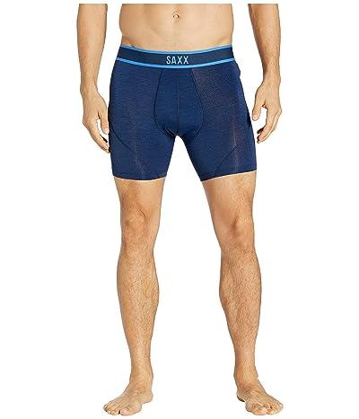 SAXX UNDERWEAR Kinetic Boxer (Blue Cross-Dye) Men