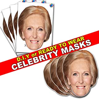 Celebrity Card FACE MASK KIT - Mary Berry - DO IT Yourself (DIY) #4