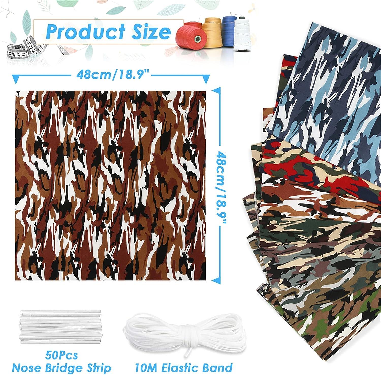 Pack de telas de algodón Letfit + banda elástica por sólo 2,99€ con el #código: N393JF2N