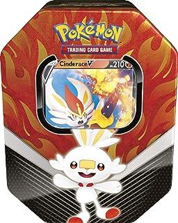 Lata Pokémon Cinderace V Parceiros de Galar, Estampado, Copag