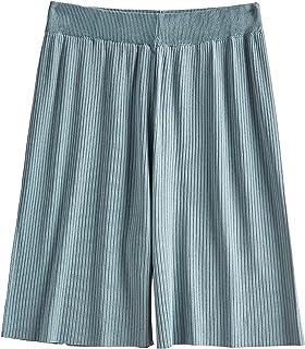 Women's Bermuda Shorts Long Shorts Lounge Soft Knit...