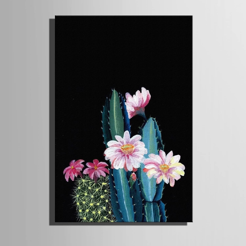 T&Q T&Qing Frameless Malerei, Leinwand Kunst Kaktus in der Nacht Dekoration Malerei, 50  70 B07KN2GPTH    König der Quantität