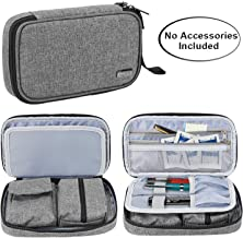 Luxja Diabetic Supplies Travel Case, Storage Bag for Glucose Meter and Other Diabetic Supplies (Bag Only), Gray