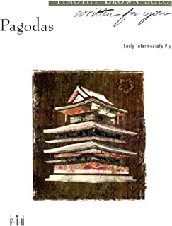 Pagodas (Timothy Brown) - Piano Solo Sheet Music