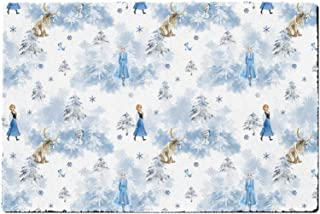 Rainbow Rules Indoor Doormat - Winter Landscape Frozen 2 Disney Inspired