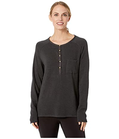Prana Hensley Henley (Charcoal) Women