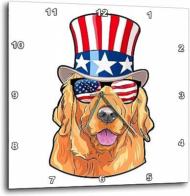 LGBT English Bulldog Wearing a Rainbow Flag top hat and sunlasses T-Shirts Illustrations 3dRose Carsten Reisinger