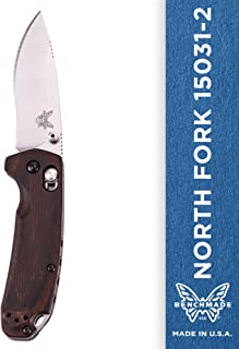 Benchmade - North Fork 15031-2 Knife, Drop-Point Blade