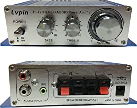 Earlybird Savings Amplificador de audio 12V - Mini amplificador de alta fidelidad Mini Amplificador de potencia de audio Hi-Fi