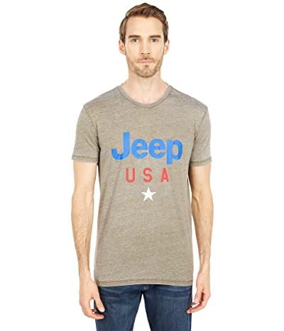 Lucky Brand Jeep USA Star T-Shirt Men